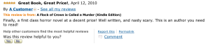 5-star review of Crows