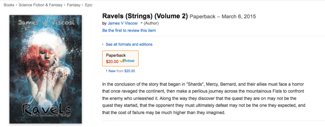 """Ravels"", Now In Paperback"