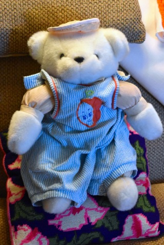 My mom's nurse teddy bear?